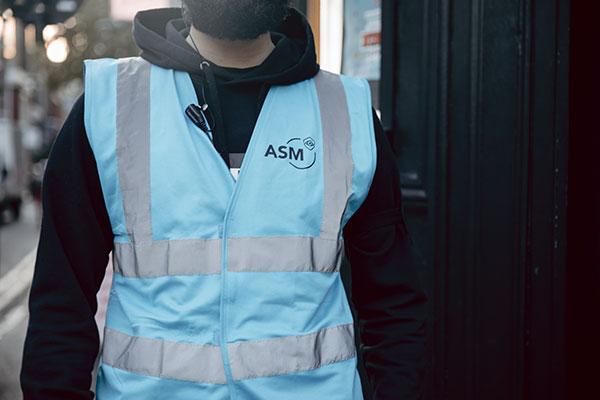 ASM Vest Venue Security